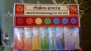 Sample Chakra Oil Set